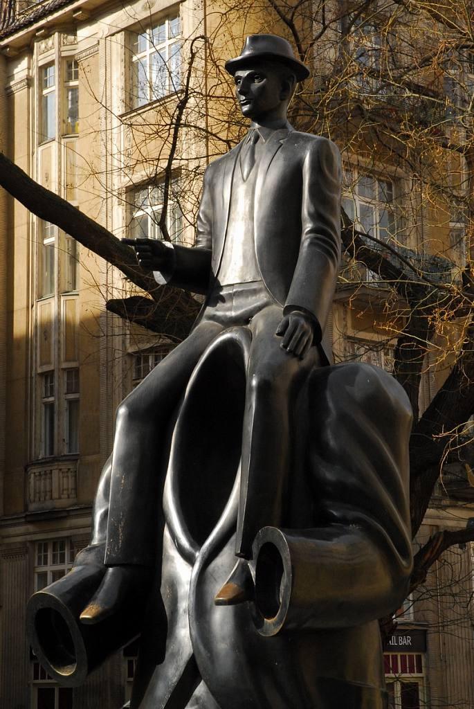 Pomník Franze Kafky