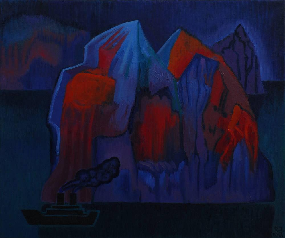 Červený ledovec
