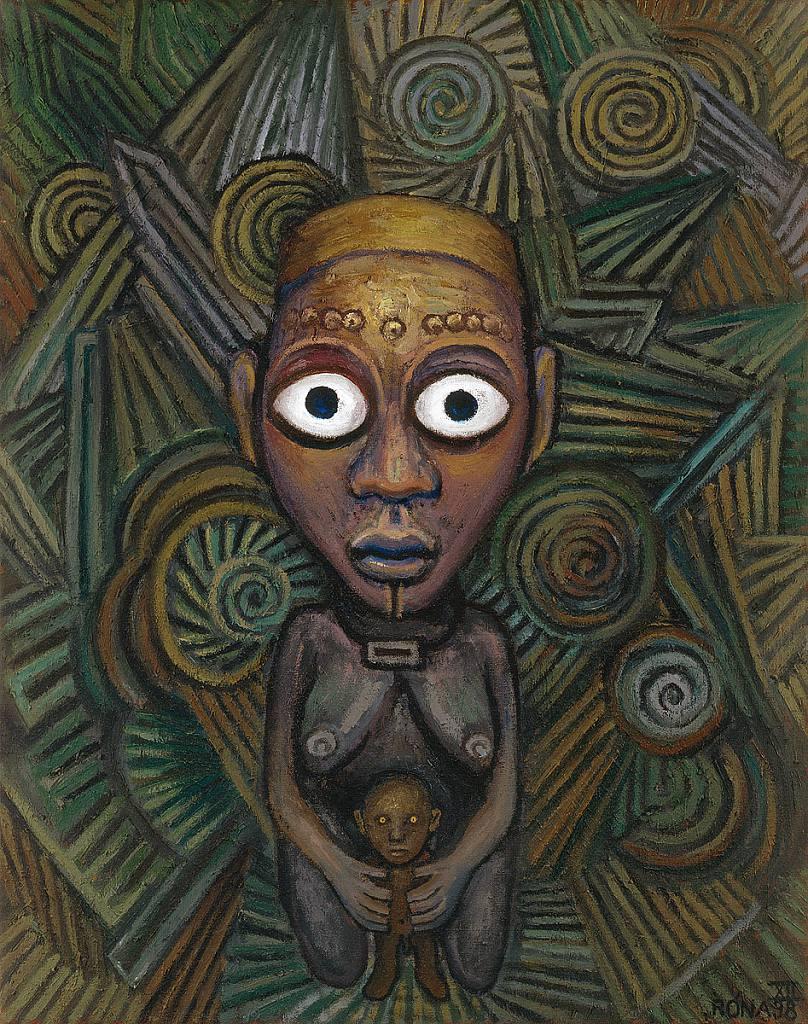 Žena v pralese