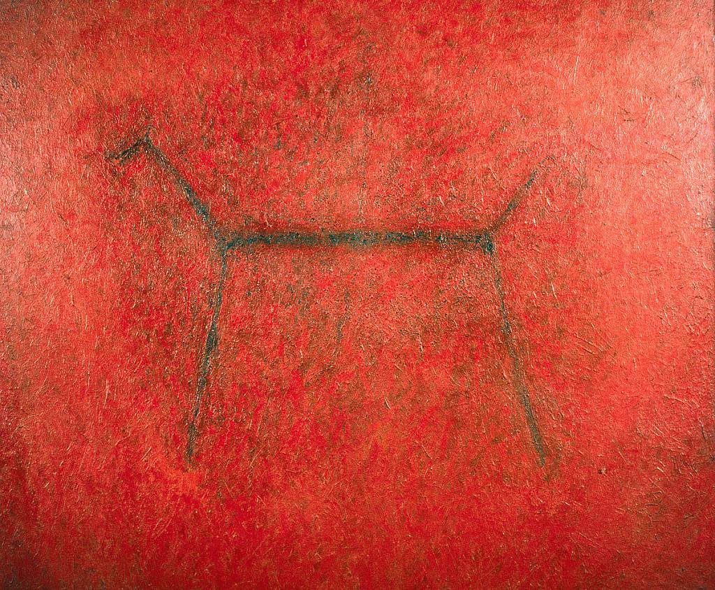 Červený koníček