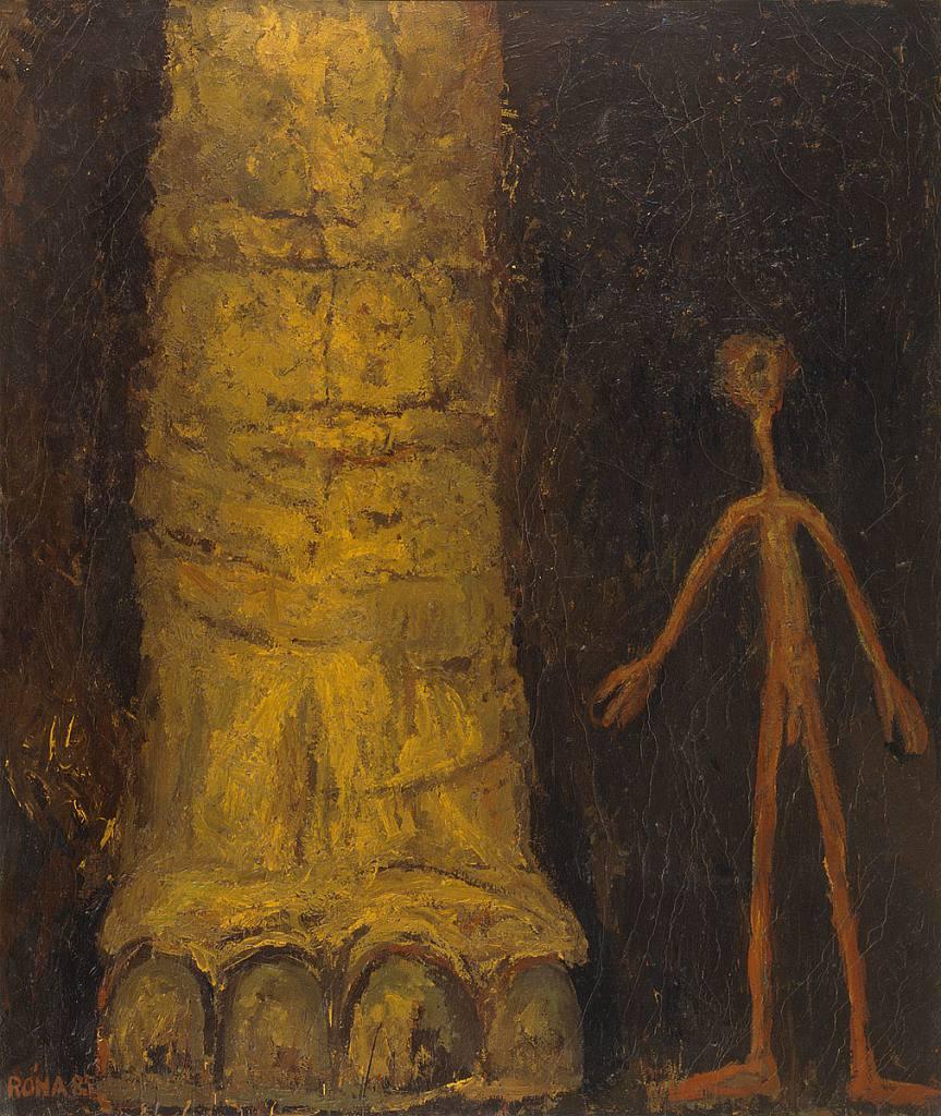 Člověk a sloní noha
